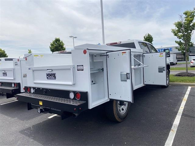 2021 Silverado 3500 Crew Cab 4x2,  Monroe Truck Equipment MSS II Service Body #5690449 - photo 7