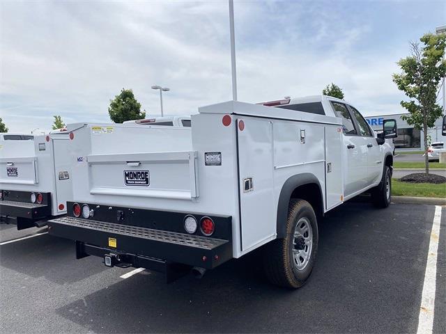 2021 Silverado 3500 Crew Cab 4x2,  Monroe Truck Equipment MSS II Service Body #5690449 - photo 9