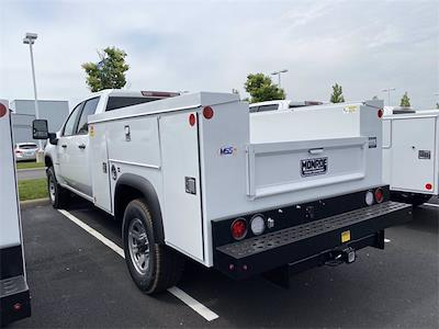 2021 Silverado 3500 Crew Cab 4x2,  Monroe Truck Equipment MSS II Service Body #5690449 - photo 2
