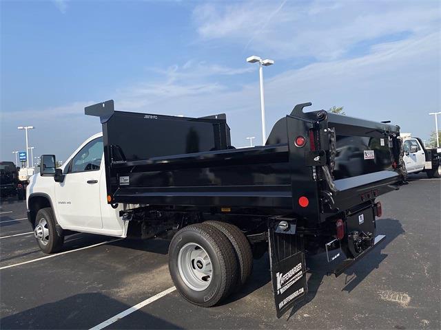2021 Silverado 3500 Regular Cab 4x4,  Crysteel E-Tipper Dump Body #5690455 - photo 13