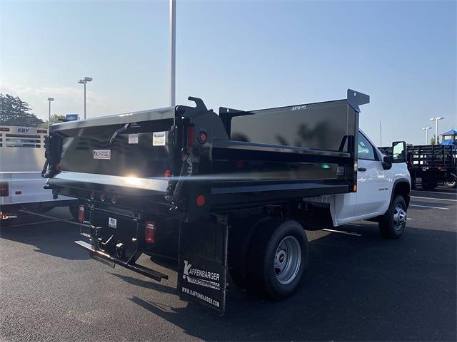 2021 Silverado 3500 Regular Cab 4x4,  Crysteel E-Tipper Dump Body #5690455 - photo 2