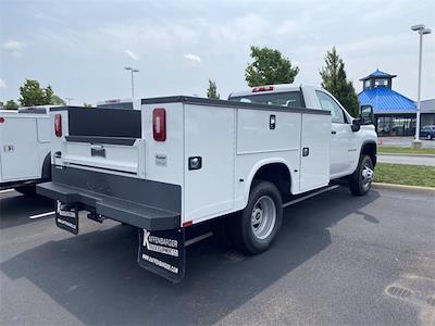2021 Silverado 3500 Regular Cab 4x4,  Knapheide Steel Service Body #5690456 - photo 2