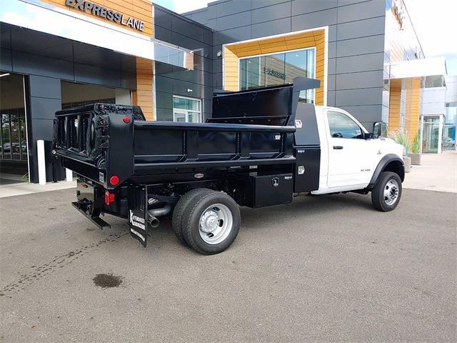 2021 Silverado 3500 Regular Cab 4x4,  Godwin 184U Dump Body #5690458 - photo 2