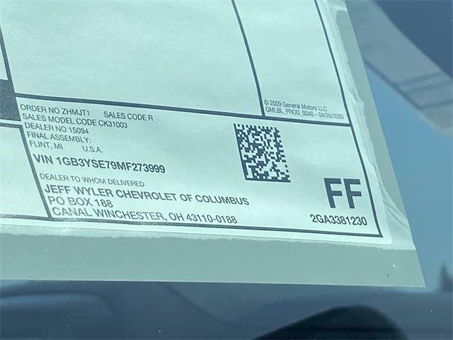 2021 Silverado 3500 Regular Cab 4x4,  Duramag S Series Service Body #5690459 - photo 12