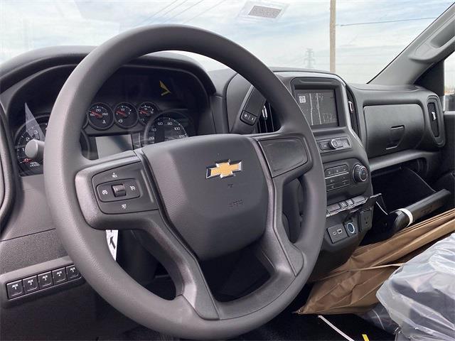 2021 Silverado 3500 Regular Cab 4x4,  Knapheide Value-Master X Stake Bed #5690465 - photo 9