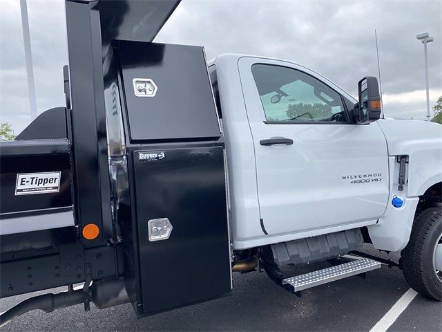 2021 Silverado 4500 Regular Cab DRW 4x4,  Crysteel E-Tipper Dump Body #5690502 - photo 12