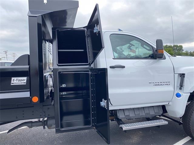 2021 Silverado 4500 Regular Cab DRW 4x4,  Crysteel E-Tipper Dump Body #5690502 - photo 13