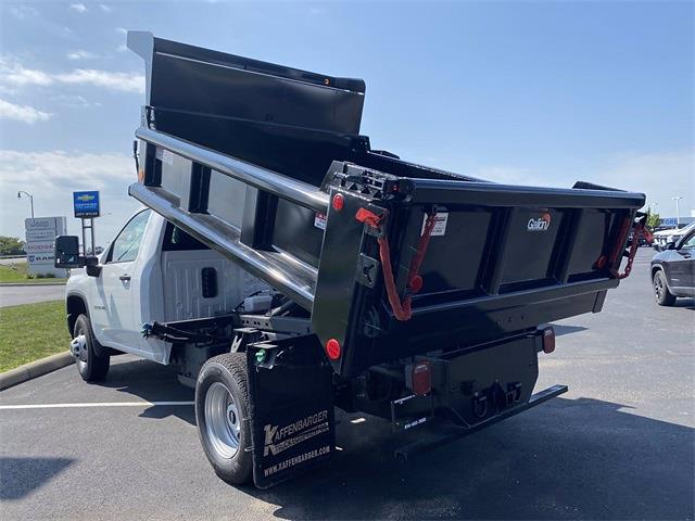 2021 Silverado 3500 Regular Cab 4x4,  Galion 100U Dump Body #5690506 - photo 11