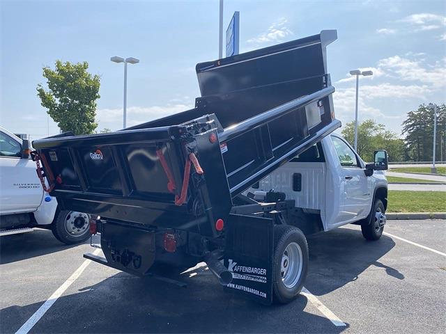 2021 Silverado 3500 Regular Cab 4x4,  Galion 100U Dump Body #5690506 - photo 2