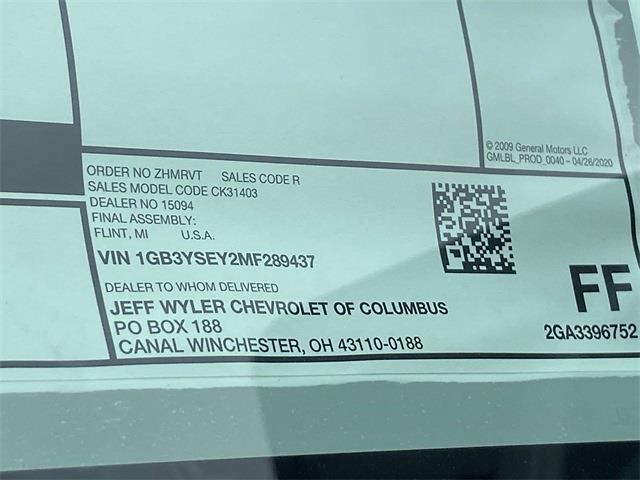 2021 Silverado 3500 Regular Cab 4x4,  Galion 100U Dump Body #5690533 - photo 14