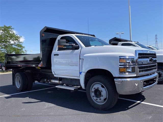 2021 Silverado 4500 Regular Cab DRW 4x2,  Monroe Truck Equipment MTE-Zee Dump Body #5690609 - photo 4