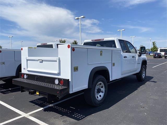 2021 Silverado 3500 Double Cab 4x2,  Monroe Truck Equipment MSS II Service Body #5690612 - photo 2