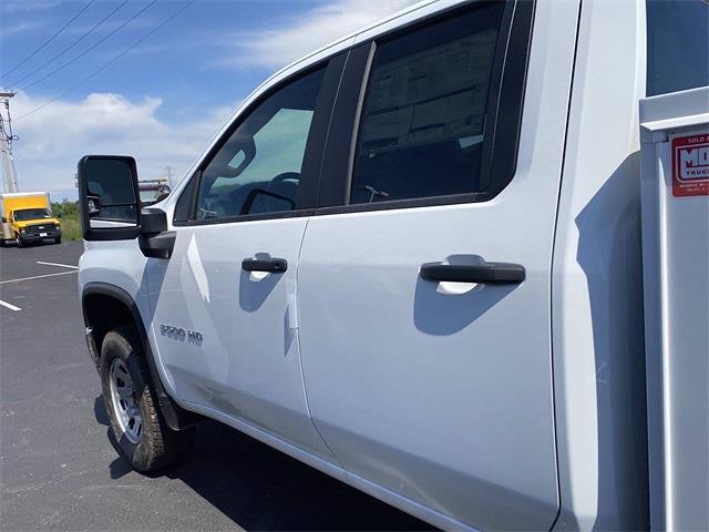2021 Silverado 3500 Double Cab 4x2,  Monroe Truck Equipment MSS II Service Body #5690612 - photo 6