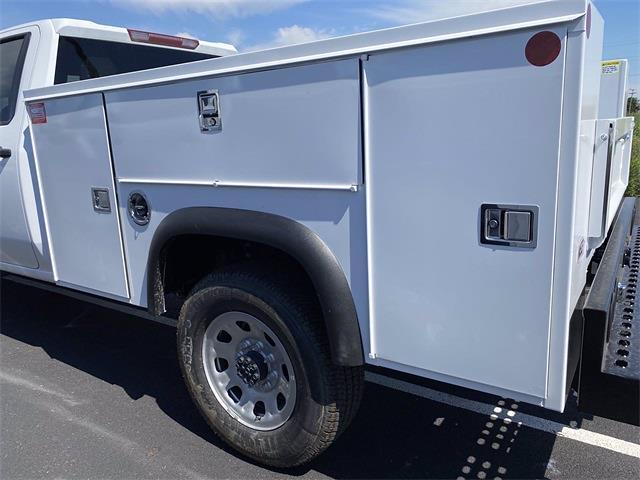 2021 Silverado 3500 Double Cab 4x2,  Monroe Truck Equipment MSS II Service Body #5690612 - photo 7