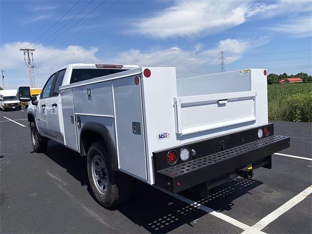 2021 Silverado 3500 Double Cab 4x2,  Monroe Truck Equipment MSS II Service Body #5690612 - photo 8