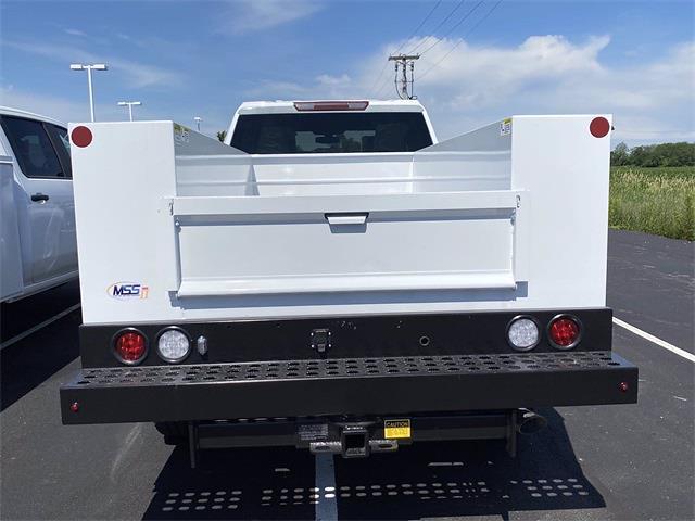 2021 Silverado 3500 Double Cab 4x2,  Monroe Truck Equipment MSS II Service Body #5690612 - photo 9