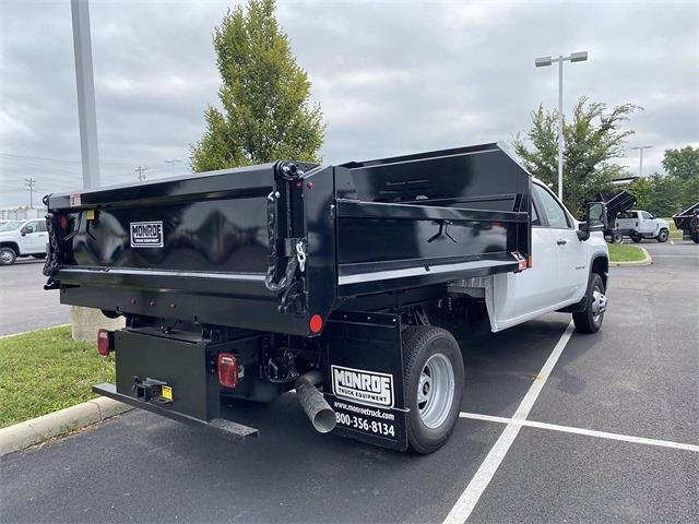 2021 Silverado 3500 Crew Cab 4x4,  Monroe Truck Equipment MTE-Zee Dump Body #5690635 - photo 2