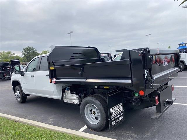 2021 Silverado 3500 Crew Cab 4x4,  Monroe Truck Equipment MTE-Zee Dump Body #5690635 - photo 10