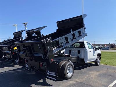 2021 Silverado 3500 Regular Cab 4x4,  Dump Body #5690644 - photo 2
