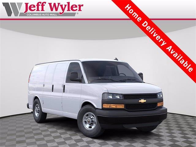 2021 Chevrolet Express 2500 4x2, Masterack Upfitted Cargo Van #5690646 - photo 1