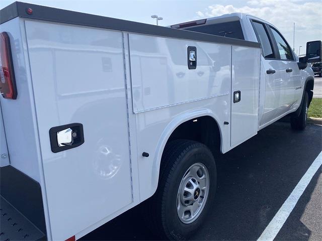 2021 Silverado 3500 Double Cab 4x2,  Monroe Truck Equipment MSS II Service Body #5690666 - photo 2