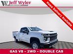 2021 Silverado 3500 Double Cab 4x2,  Monroe Truck Equipment MSS II Service Body #5690666 - photo 1