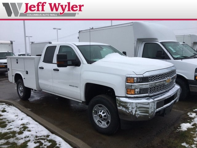 2019 Silverado 2500 Double Cab 4x2,  Knapheide Service Body #569070 - photo 4