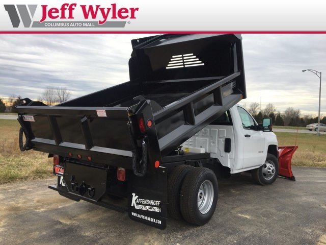 2019 Silverado 3500 Regular Cab DRW 4x4,  Crysteel Dump Body #569098 - photo 2