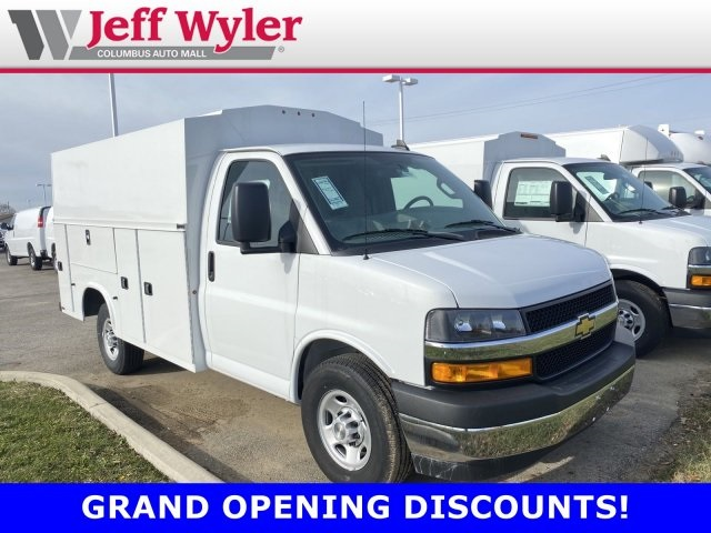 2019 Chevrolet Express 3500 4x2, Knapheide Service Utility Van #569354 - photo 1