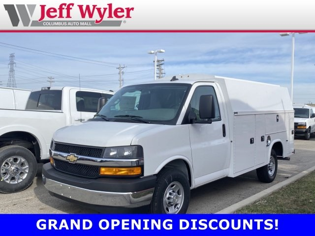 2019 Chevrolet Express 3500 4x2, Knapheide Service Utility Van #569580 - photo 1