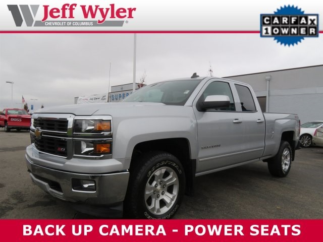 2015 Silverado 1500 Double Cab 4x4,  Pickup #56T5029 - photo 1