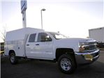 2016 Silverado 2500 Double Cab, Reading Classic II Steel Service Body #S90405 - photo 4