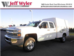 2016 Silverado 2500 Double Cab, Reading Classic II Steel Service Body #S90405 - photo 1