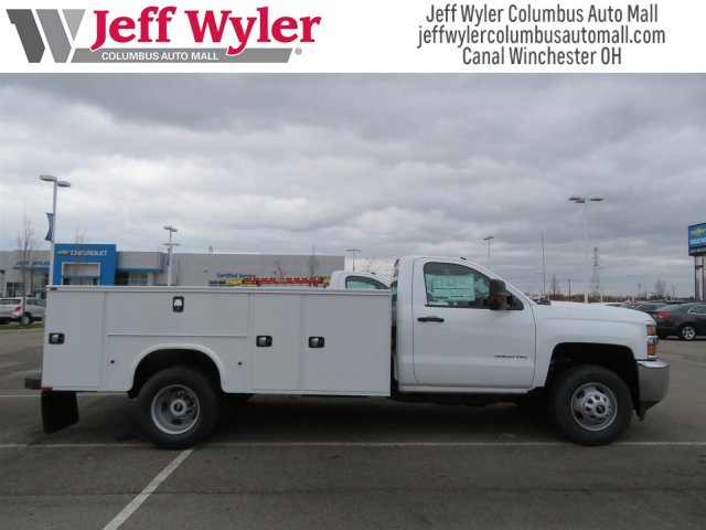 2017 Silverado 3500 Regular Cab DRW 4x4, Knapheide Service Body #S90550 - photo 2