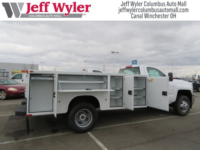 2017 Silverado 3500 Regular Cab DRW 4x4, Knapheide Service Body #S90550 - photo 4