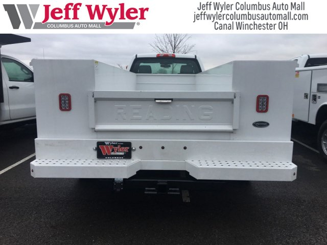 2017 Silverado 3500 Regular Cab DRW 4x4,  Reading Service Body #S90555 - photo 10