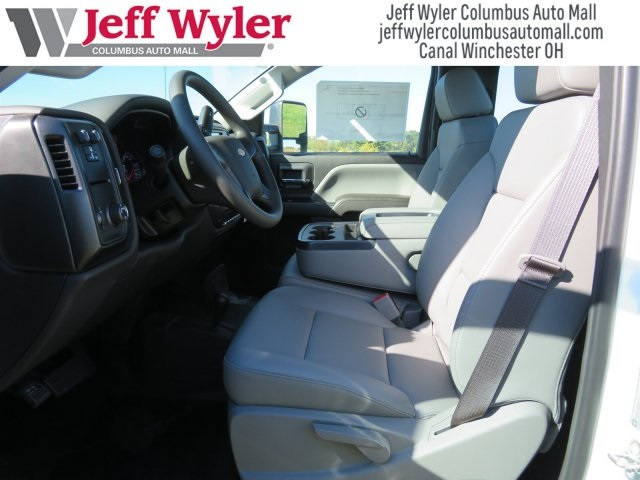 2017 Silverado 3500 Regular Cab DRW 4x4,  Reading Classic II Steel Service Body #S90555 - photo 6