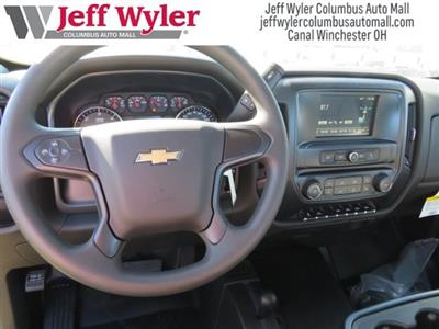 2017 Silverado 3500 Regular Cab DRW 4x4,  Reading Classic II Steel Service Body #S90555 - photo 7