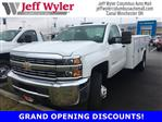 2017 Silverado 3500 Regular Cab DRW 4x4,  Reading Service Body #S90555 - photo 1