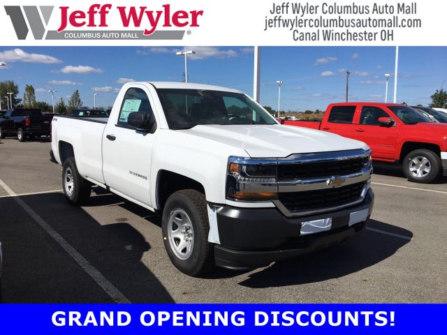 2018 Silverado 1500 Regular Cab 4x4, Pickup #S90573 - photo 1