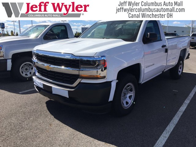 2018 Silverado 1500 Regular Cab 4x4, Pickup #S90573 - photo 4