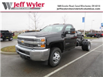 2018 Silverado 3500 Regular Cab DRW 4x4, Cab Chassis #S90650 - photo 1
