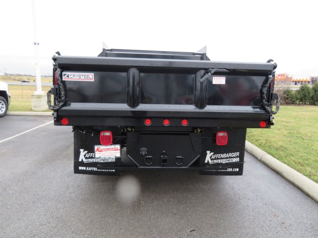 2018 Silverado 3500 Crew Cab DRW 4x4, Dump Body #S90699 - photo 5