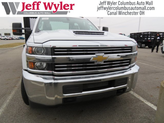 2018 Silverado 3500 Regular Cab DRW, Monroe Platform Body #S90702 - photo 3