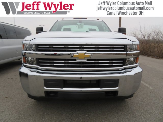 2017 Silverado 3500 Regular Cab DRW 4x4,  Reading Service Body #S90712 - photo 3