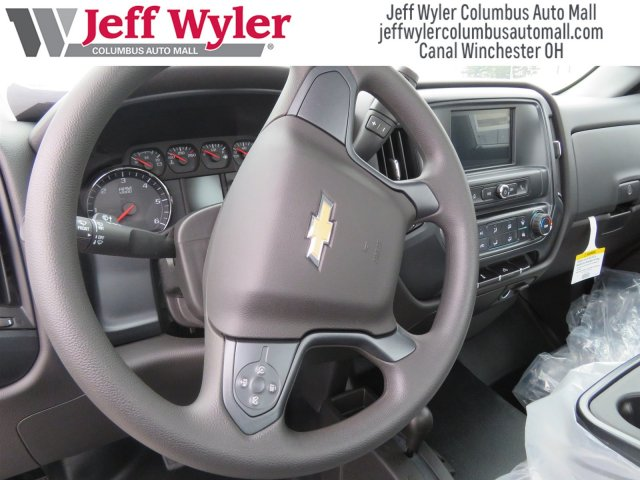 2017 Silverado 3500 Regular Cab DRW 4x4,  Reading Service Body #S90712 - photo 8