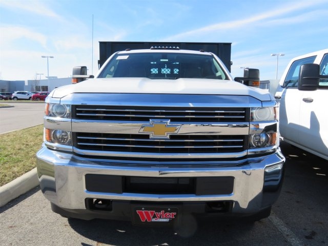 2017 Silverado 3500 Regular Cab DRW 4x4, Reading Stake Bed #S90724 - photo 3