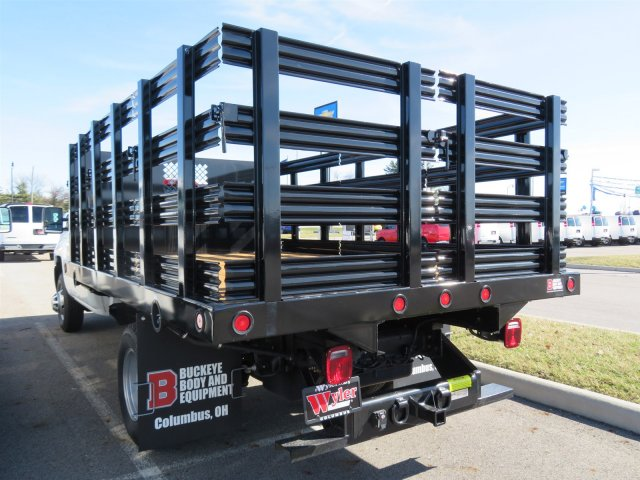 2017 Silverado 3500 Regular Cab DRW 4x4, Reading Stake Bed #S90724 - photo 6