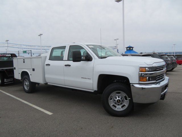 2018 Silverado 2500 Crew Cab 4x4, Knapheide Service Body #S90731 - photo 4