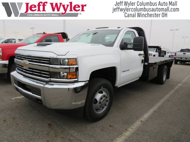 2018 Silverado 3500 Regular Cab DRW 4x4, Knapheide Platform Body #S90733 - photo 4